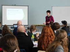 Chloe Smith invites students from schools and colleges to suggest ideas to improve social mobility in Norwich